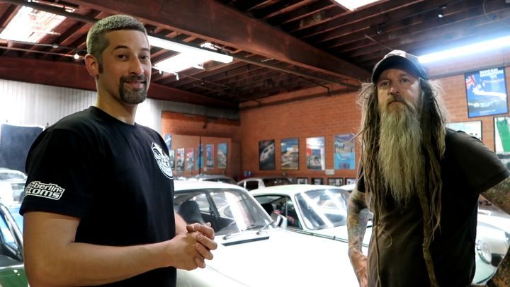@magnuswalker let US take a little tour around his impressive building in Los Angeles. We were allowed to take a look at his awesome Porsche collection and his own builds. He is such a nice guy and it's great to talk to him every time. Thanks a lot Magnus! ??