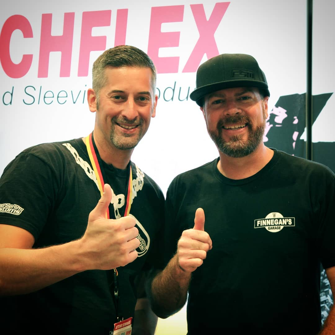 // At @semashow 2018 I met Mike Finnegan at the @techflex_inc Booth. The RoadKill stuff and his personal projects are always entertaining and interesting. I hope to meet this cool Dude again