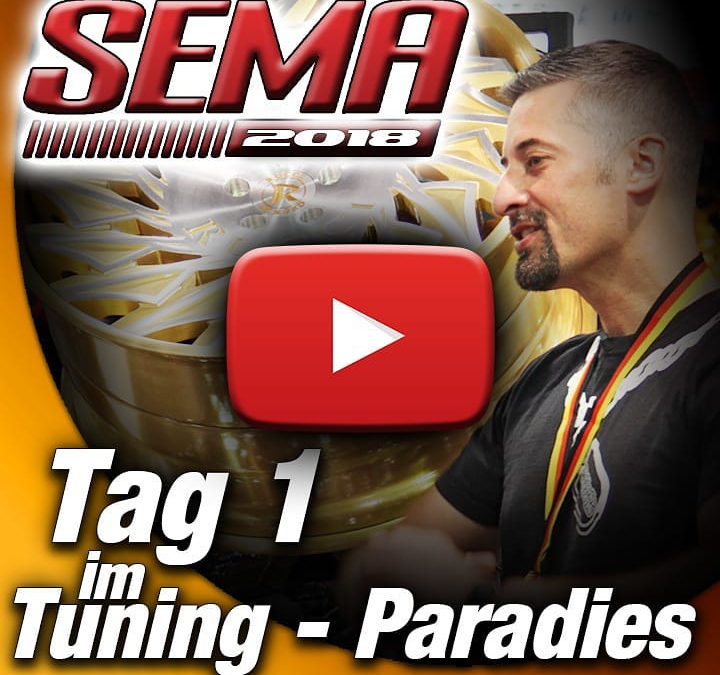 Tag 1 unseres SEMA 2018 Messe-Besuchs