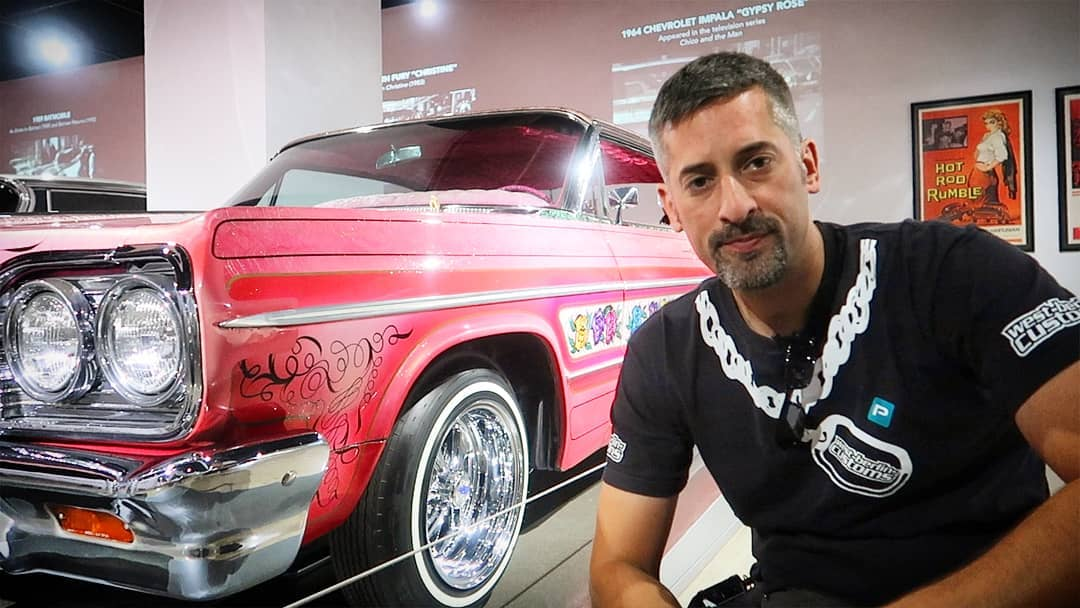 """I've been always impressed about the history and the build quality of """"Gypsy Rose"""", a 1964 Impala Lowrider! It's very sad to hear about the owner Jesse @gypsyrose_1964 passing away. Your family and friends are in my thoughts. ??? Rest in Peace"""
