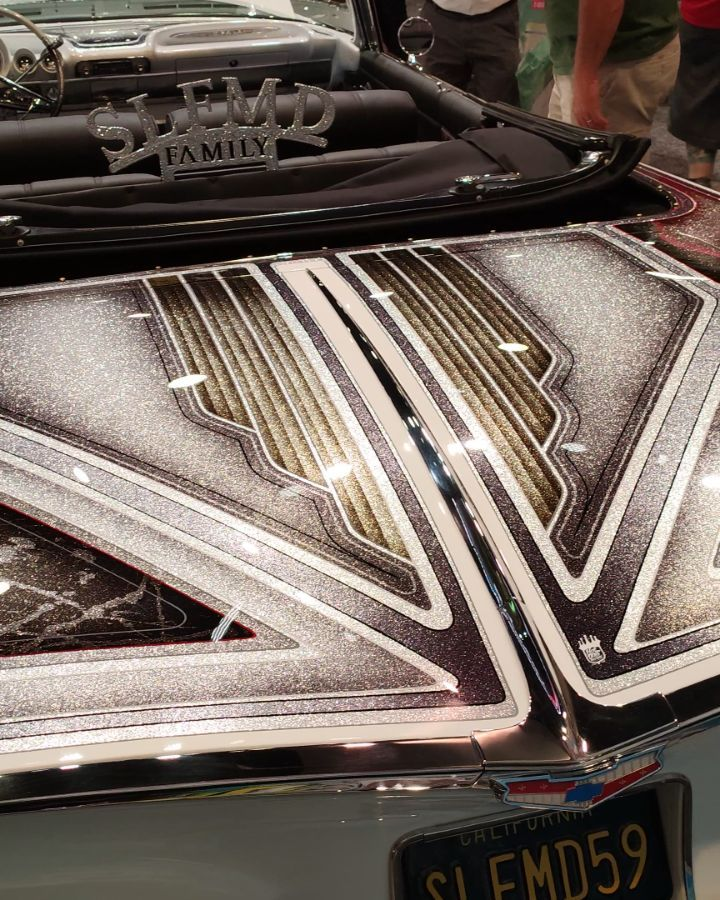 Lowrider Paintjob Lackierung Candy CandyPaint Metalflakes