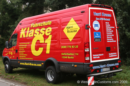 Iveco Daily 2008 – Komplettbeschriftung